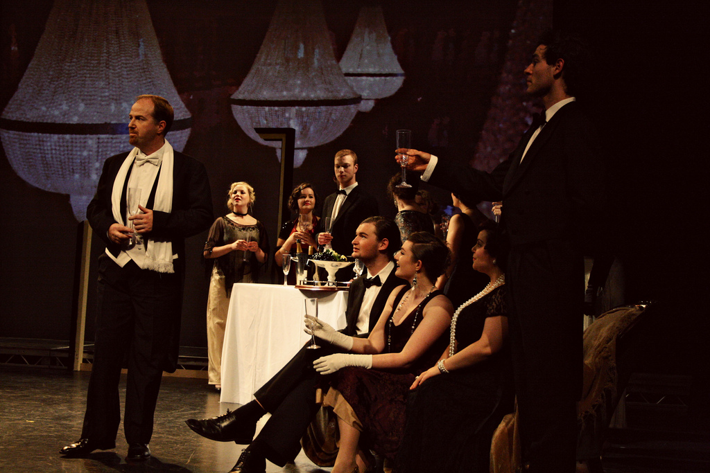 "Donal as Alfredo in ""La Traviata"" in Ireland."