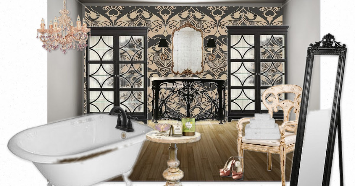 Art nouveau bath zemandesigns and blogs for Art nouveau bathroom design