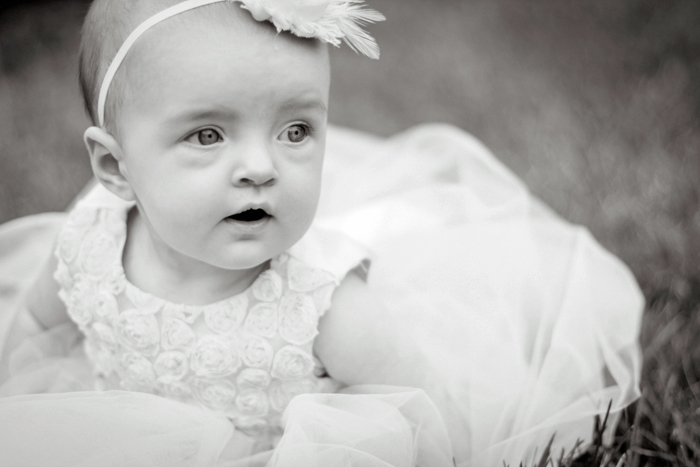 Princess baby photography, cute baby photos, black & white baby portraits