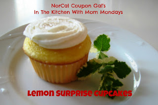 In The Kitchen With Mom Mondays: Lemon surprise cupcakes