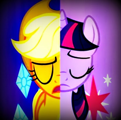 My Little Pony: Friendship is Magic Magic Mystery Cure Applejack Twilight Sparkle