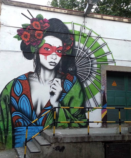 Street Art, Graffiti Art, Fin Dac, Spain, Street Art in Spain