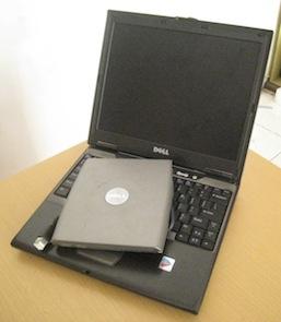 jual laptop bekas dell latitude d410