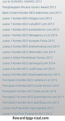 Guru Elektronik di Ajang Kontes SEO Indonesia