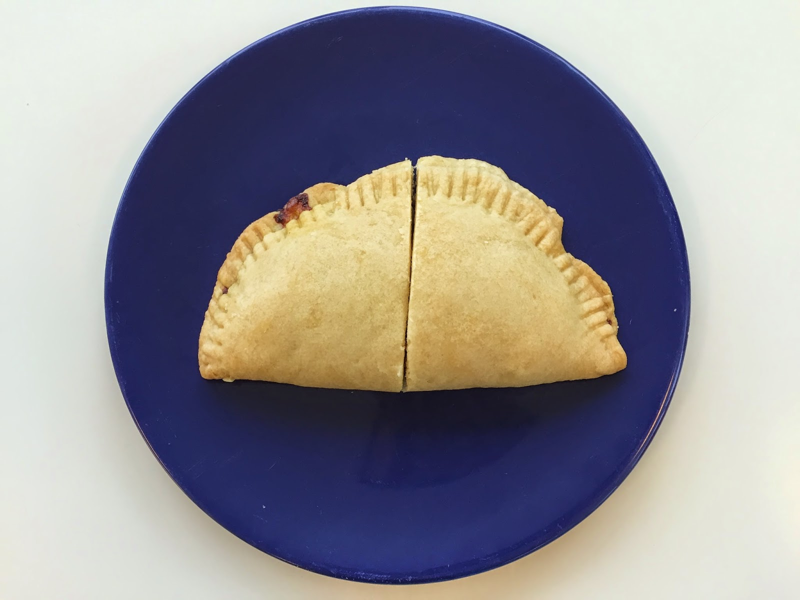 empanadilla casera con bechamel y gambas receta