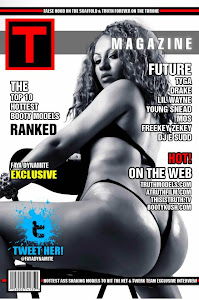 Faya Dynamite Double Cover On Truth Models Magazine 2012 / TruthModels.com