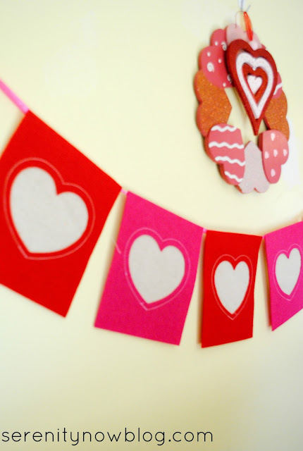 Valentine's Day Decorations, from Serenity Now blog