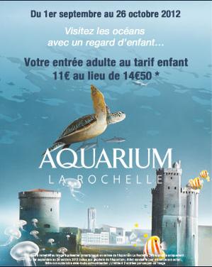aquarium la rochelle tarif
