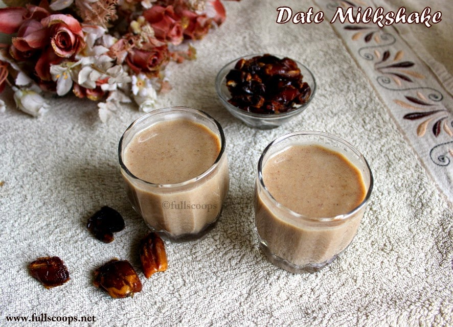 Dates Milkshake