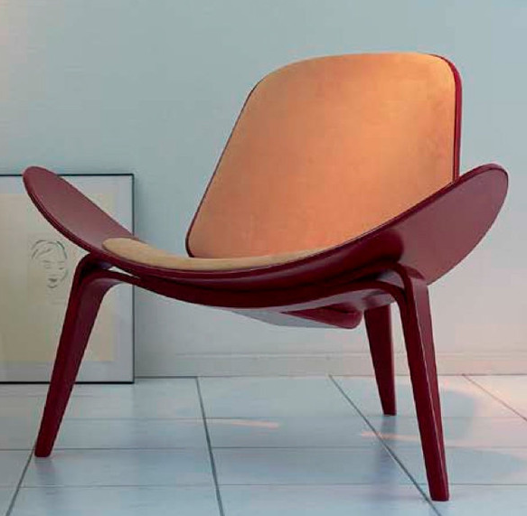 Raul molina wegner ch07 shell chair for Silla diseno famosas