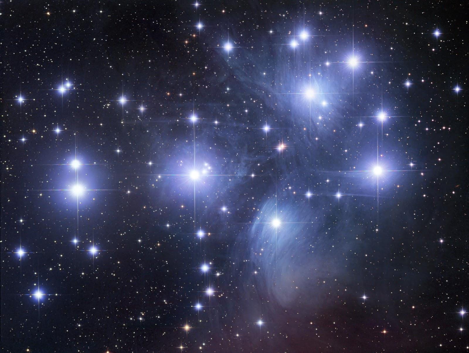 ... estrellas cuya posición en el cielo nocturno es aproximadamente y