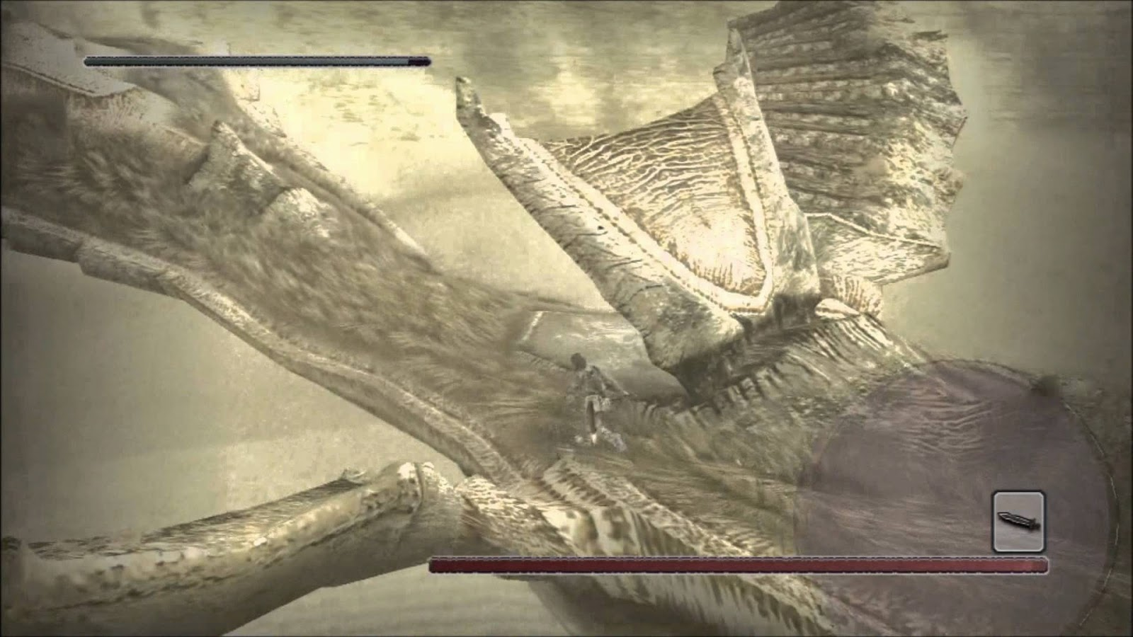 Reminiscence mode shadow of the colossus