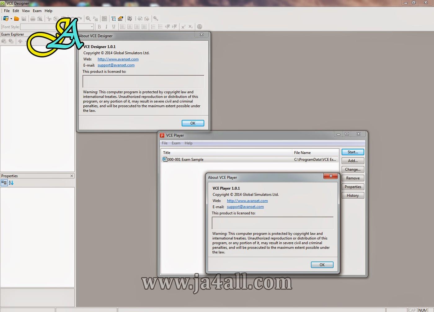 Avanset VCE Exam Simulators 1.0.1 Full Version