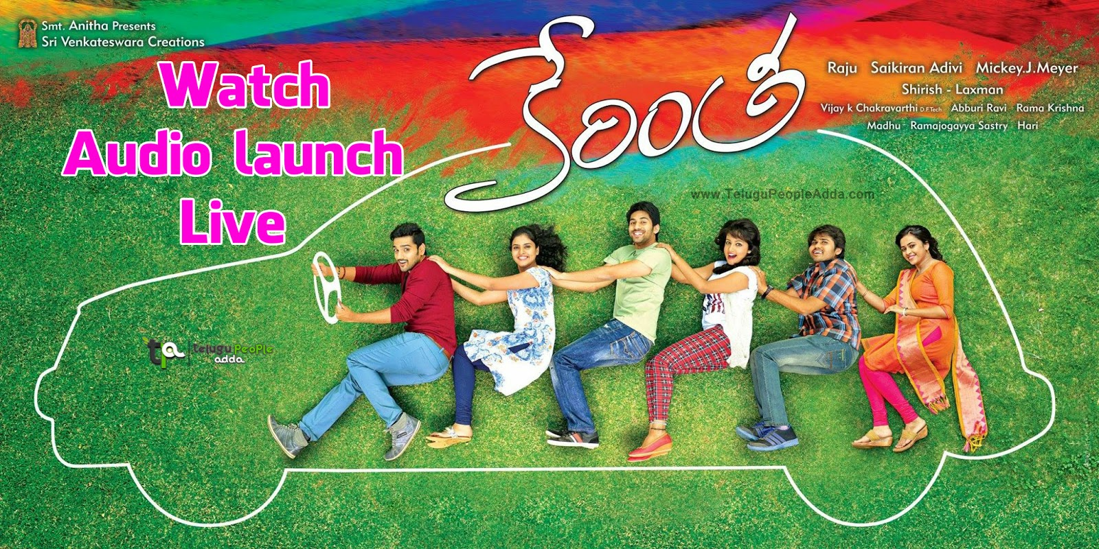 Watch Kerintha Audio Launch Live - Sumanth Ashwin, Sri Divya, Mickey J Meyer