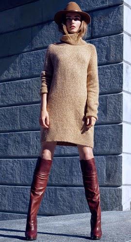 Moda de invierno H&M jersey punto mujer