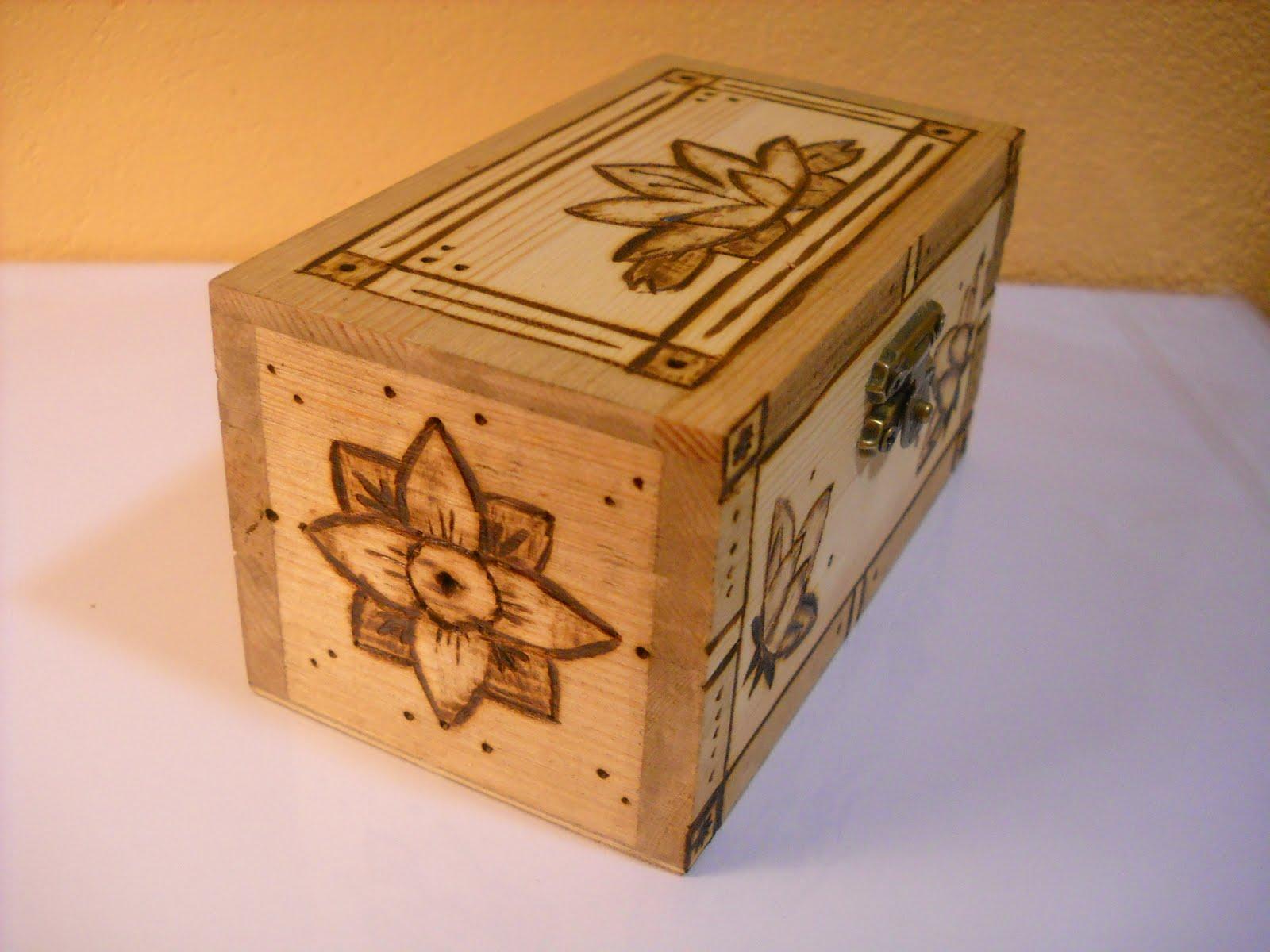 Abalorios a mano tutorial pirograbado 2 - Dibujos para decorar cajas de madera ...