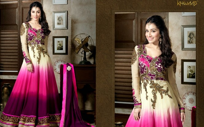 Elegant Floor Length Anarkali Dresses
