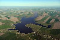 The Fresno Dam, just north of Havre, Montana