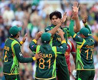 Pakistan Vs West Indies Muhammad Irfan  After Taking Wicket