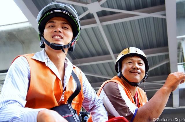 Moto-taxis à Bangkok