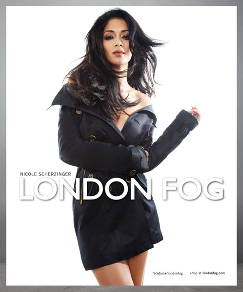 Fashionable Hairstyles Nicole Scherzinger on London Fog 04
