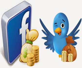 Make Money With Facebook And Twitter in Pakistan
