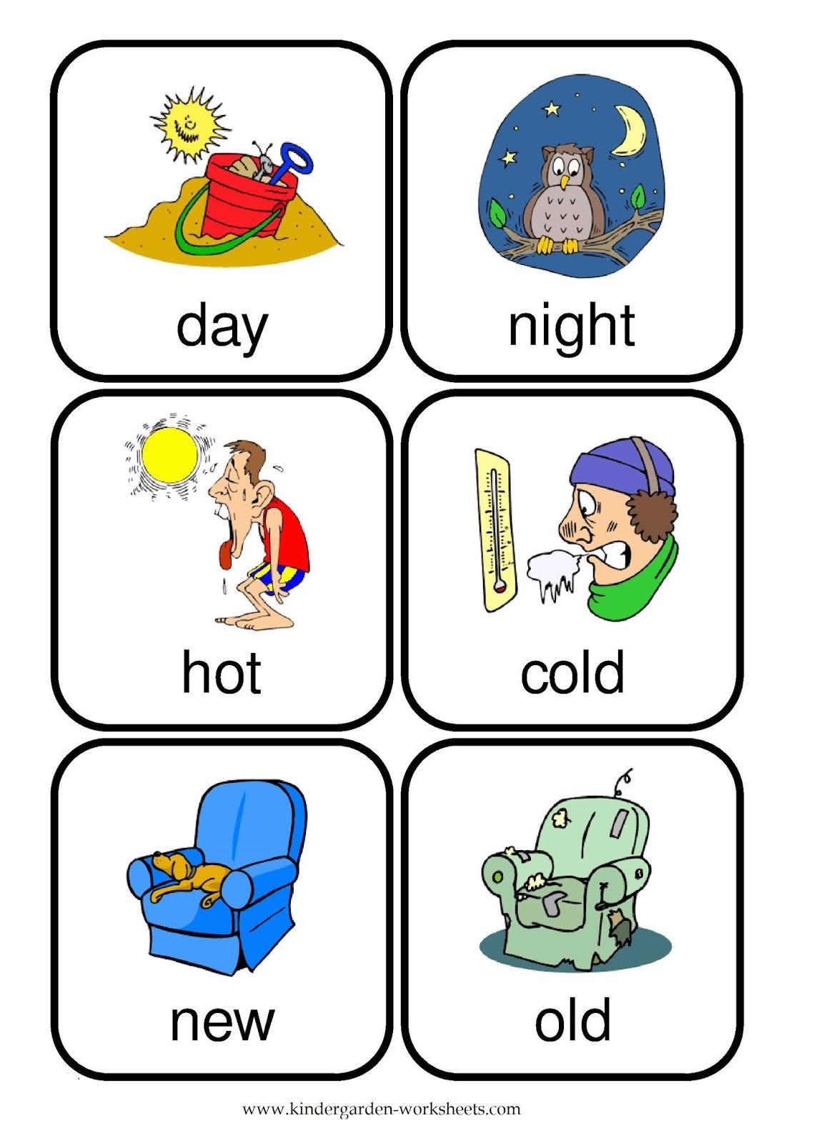 Worksheet 604780 Opposite Words Worksheets for Kindergarten – Hot and Cold Worksheets for Kindergarten