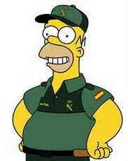 HOMER GUARDIA CIVIL