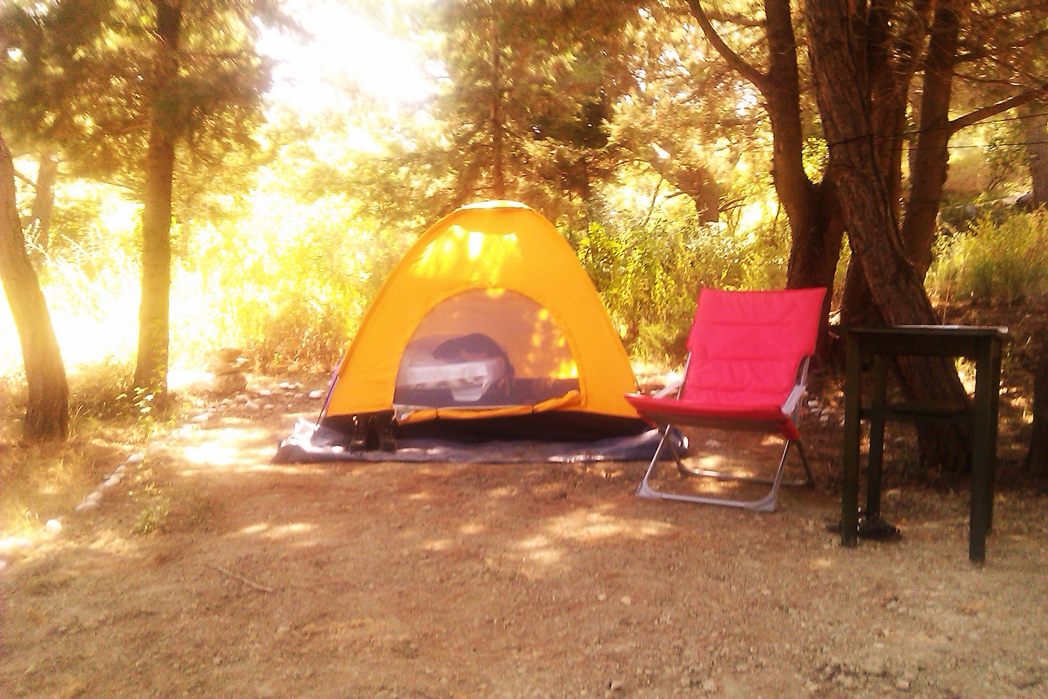 Camping in Rhodes