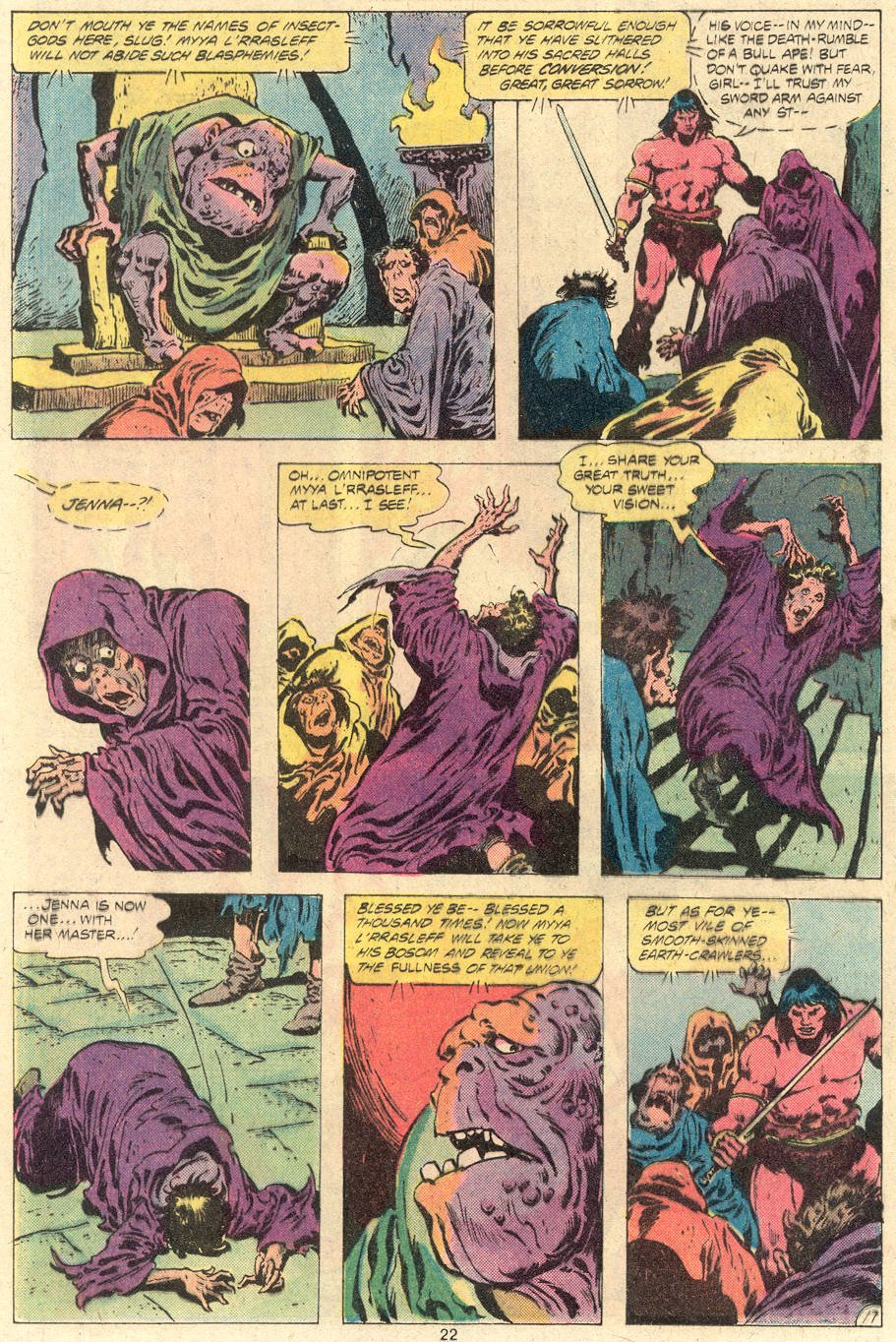 Conan the Barbarian (1970) Issue #118 #130 - English 18