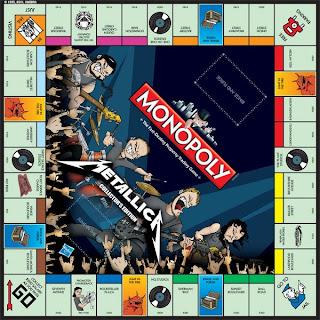 Monopoly edición Metallica