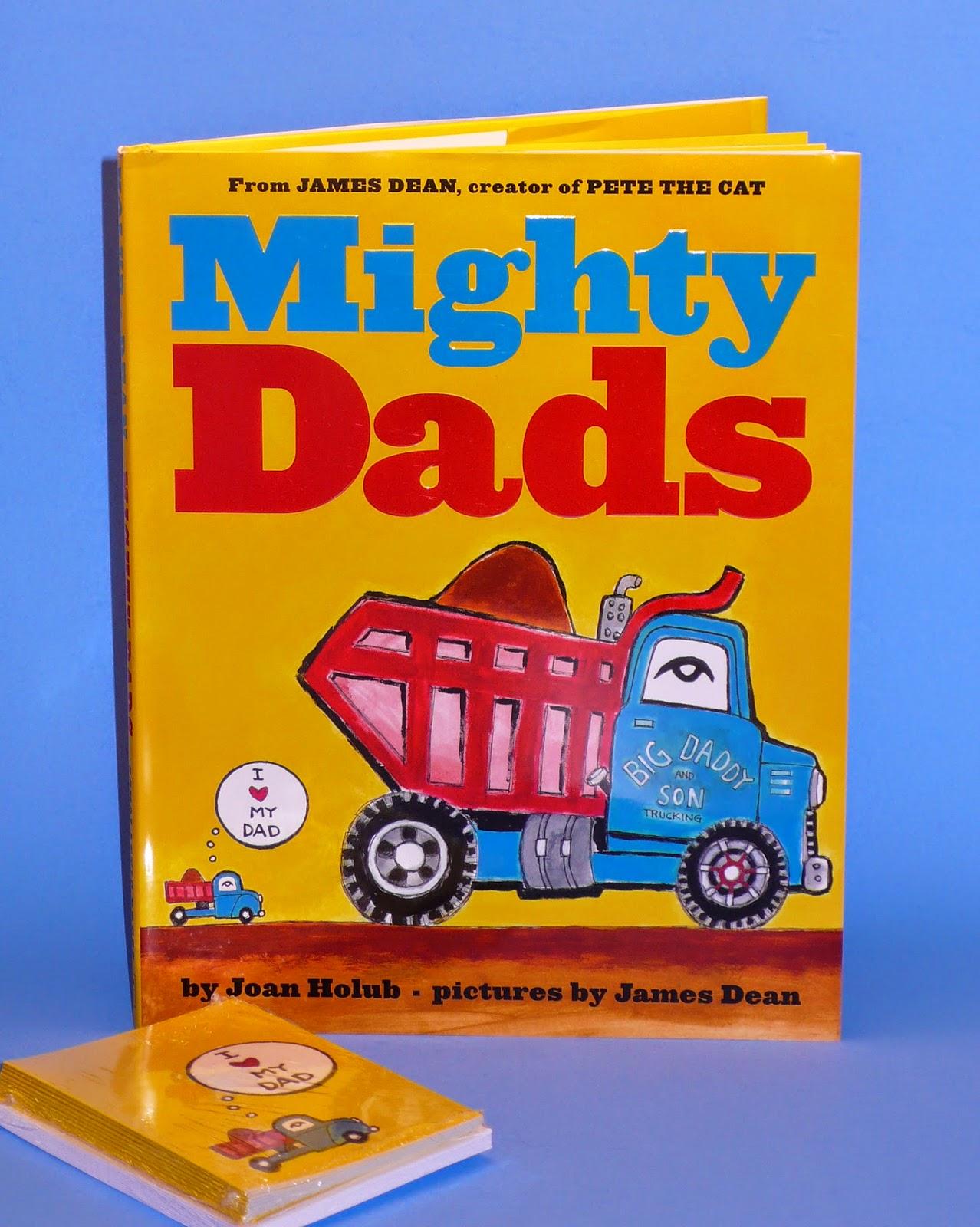 http://www.amazon.com/Mighty-Dads-Joan-Holub/dp/0545609682/ref=sr_1_1_title_0_main?s=books&ie=UTF8&qid=1389317753&sr=1-1&keywords=mighty+dads