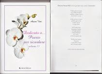 ALETTI EDITORE: Dedicato a ...Poesie per ricordare antologia A.V. una poesia: In quel dolce bacio a