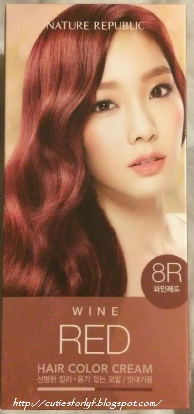 Cutiesforlyf Review Nature Republic Hair Color Cream Red Wine