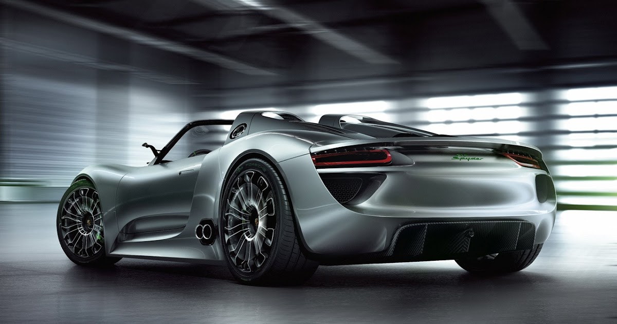 porsche 918 spyder concept nuove informazioni veicoli elettrici. Black Bedroom Furniture Sets. Home Design Ideas