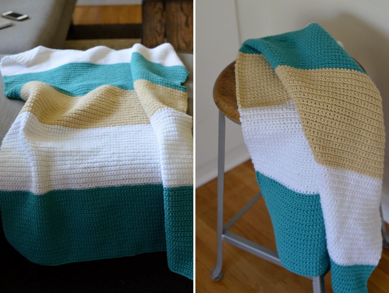 Sewing Barefoot: modern baby blanket