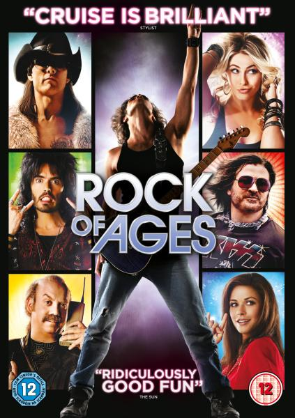 Rock of Ages DVDR NTSC Español Latino Menú Full 2012
