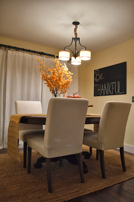 Ashley 39 s nest decorating a dining room for thanksgiving for My dining room 9 course
