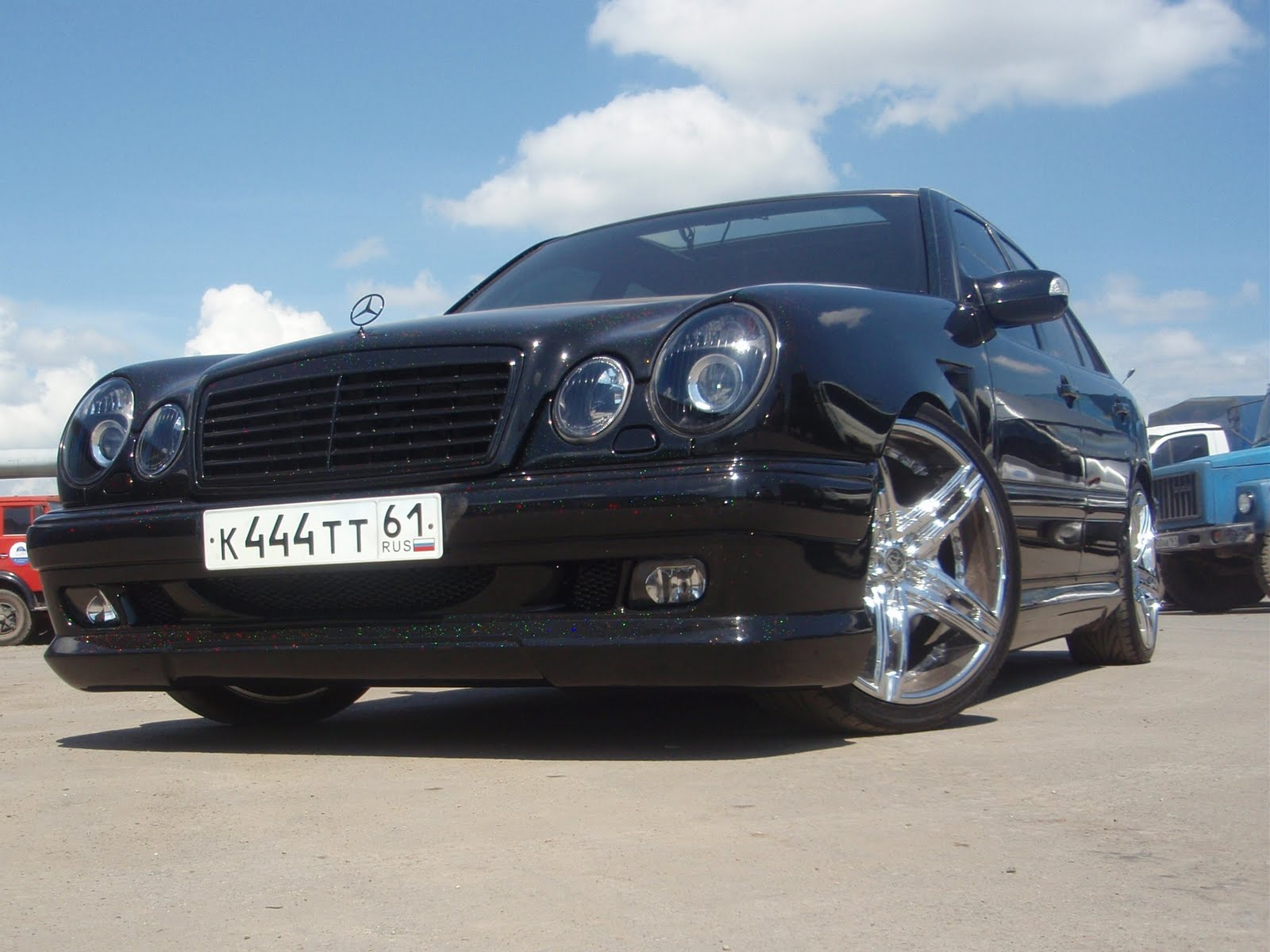 mercedes benz w210 wald body kit benztuning. Black Bedroom Furniture Sets. Home Design Ideas