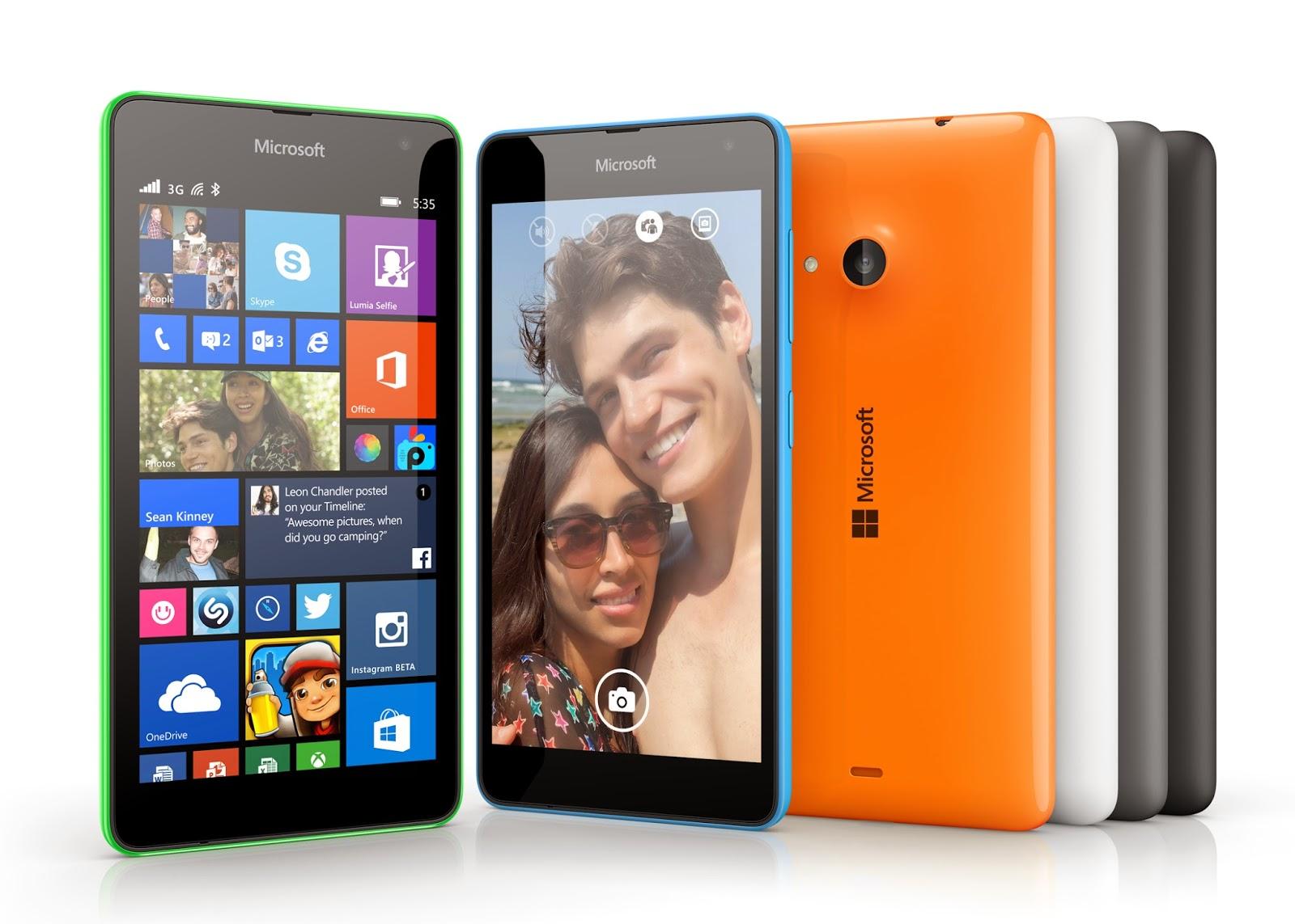 Lumia 535 hai SIM được bán tại Việt Nam, giá 3.499.000 đồng