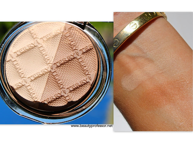 by terry compact contouring Beige Contrast swatches