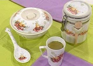 Piezas de ceramica y porcelana para pintar