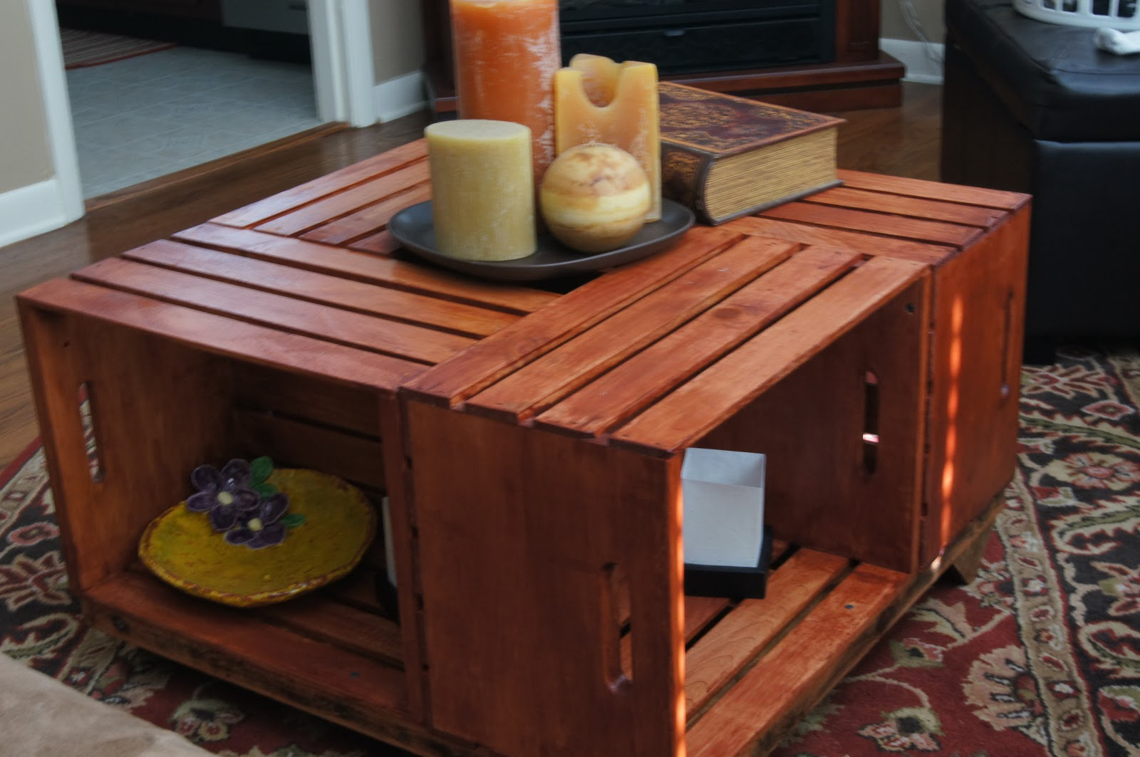 diy wooden crate coffee table | Quick Woodworking Projects