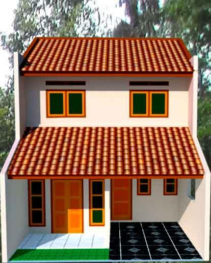 gambar desain untuk renovasi rumah btn type 21 60 desain