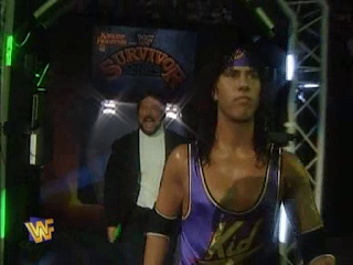 WWF / WWE SURVIVOR SERIES 95 - 123 Kid wrestled on the Body Donnas Team