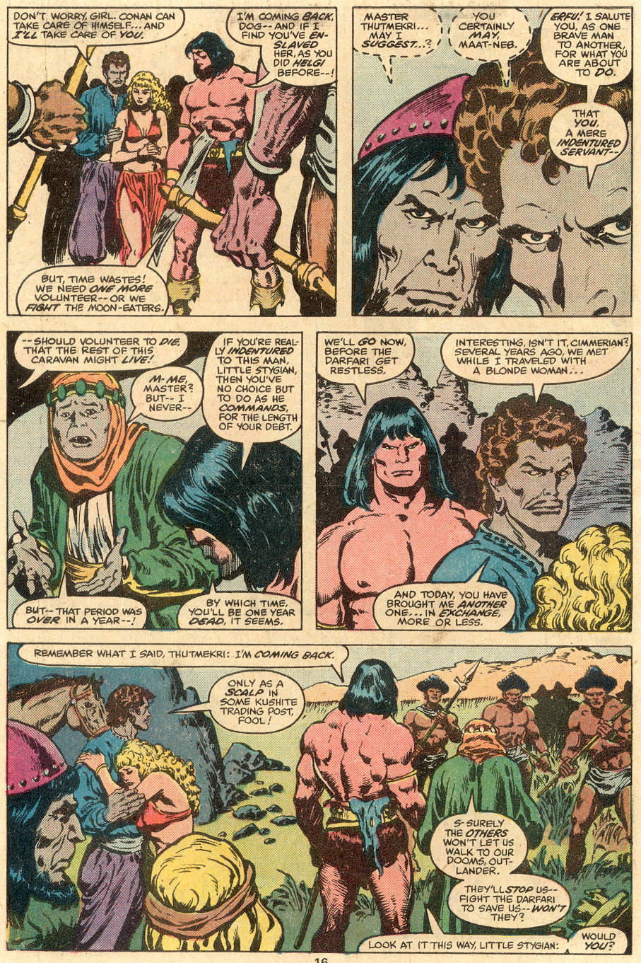 Conan the Barbarian (1970) Issue #108 #120 - English 11