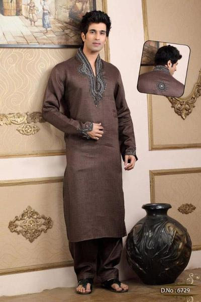 LatestWinterIndowesternkurtaCollection2012byVazz 4  - _____Dress of the day 19 Nov 2013 for Boys___