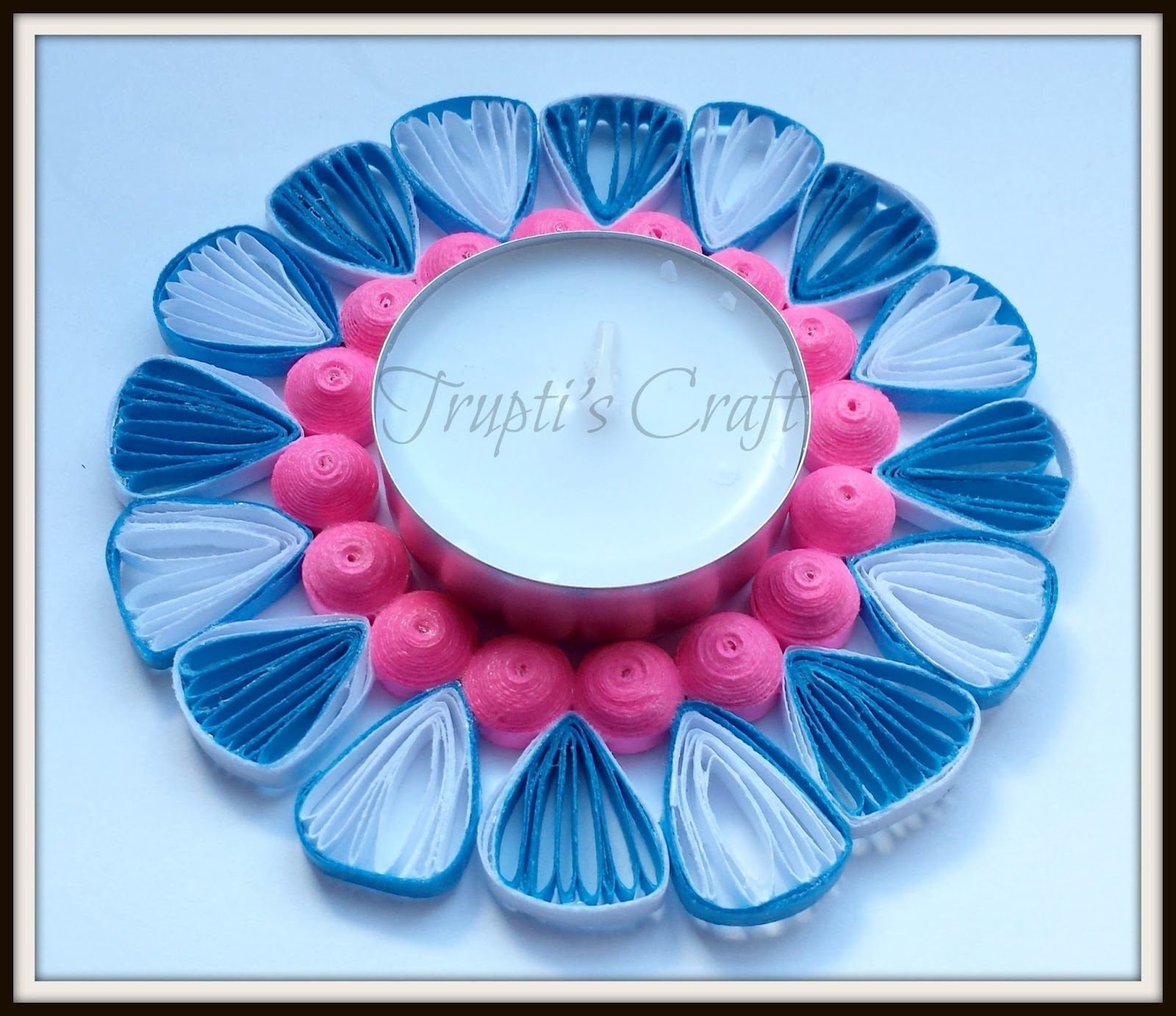 Trupti\'s Craft: Multipurpose Paper Quilling Candle Holder / Ornament ...