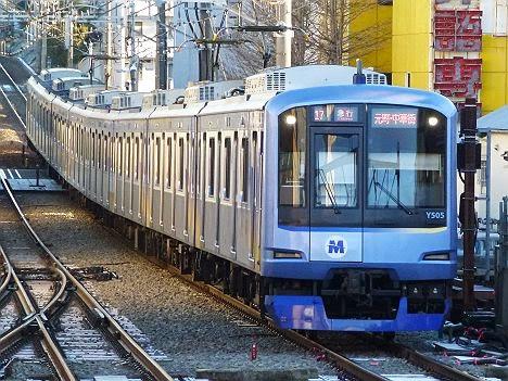東急東横線 急行 元町・中華街行き Y500系