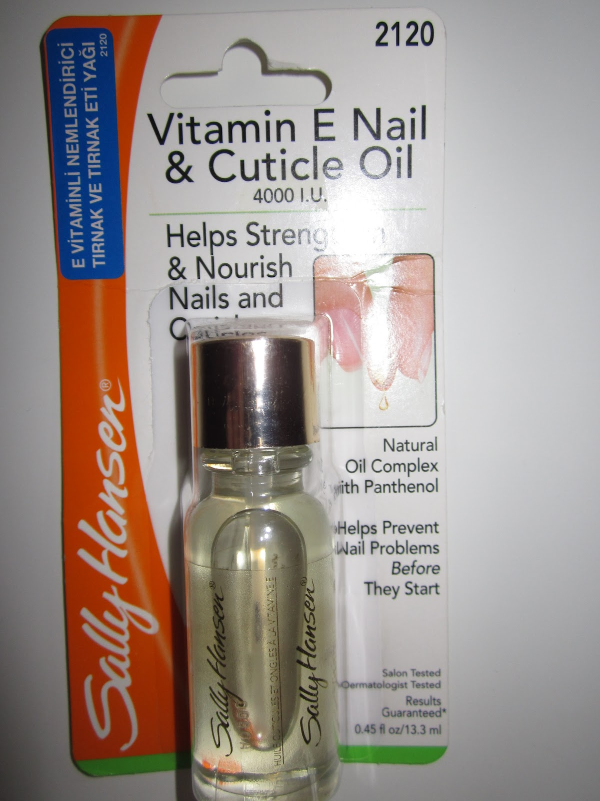 Etiket: E vitamini yağı